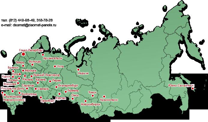 На карте где находится тюмень